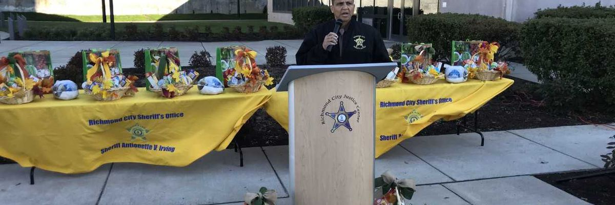 Special delivery: Sheriff's office partners with others to give turkeys to seniors