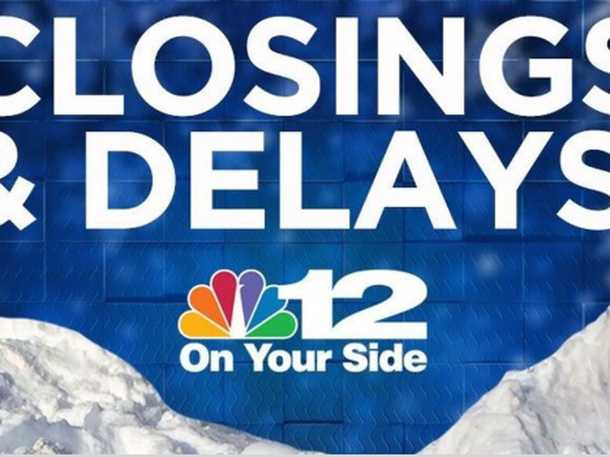 Closings and Delays for Wednesday, Nov. 13