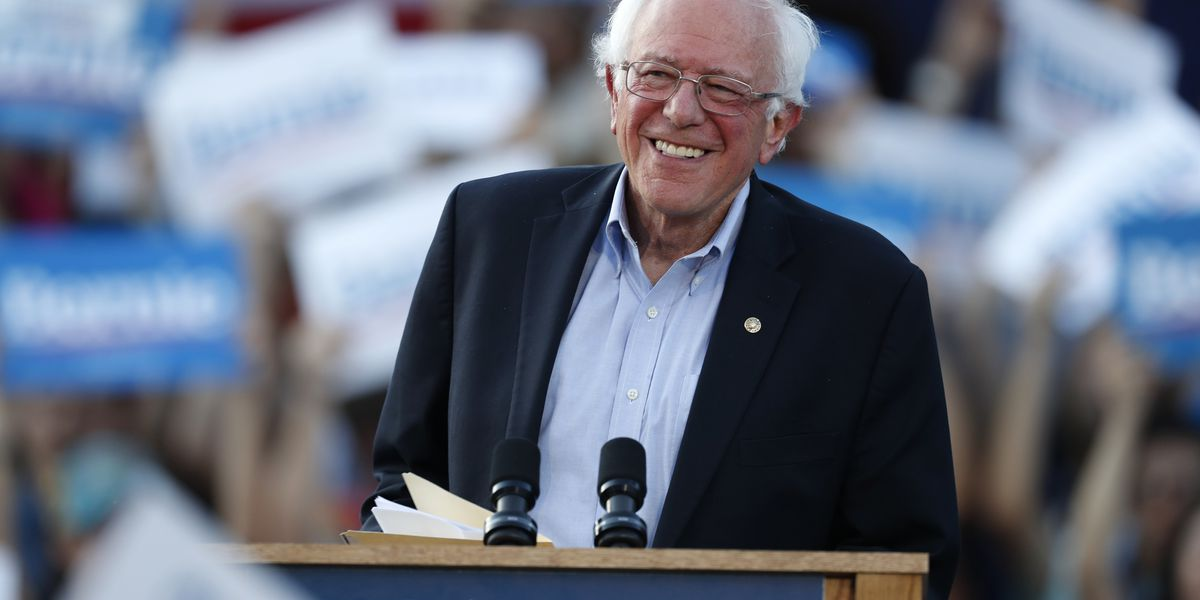 Sen. Bernie Sanders home in Vermont after heart attack