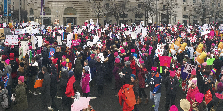 Thousands March on Washington Despite Controversy