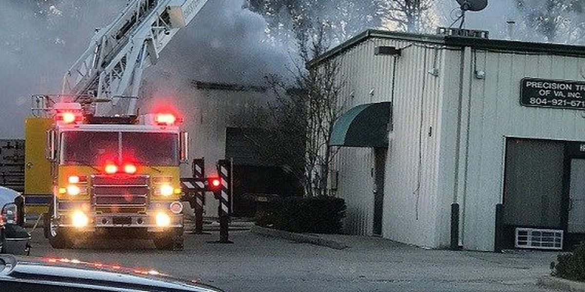 14 businesses impacted by Christmas fire in Chesterfield