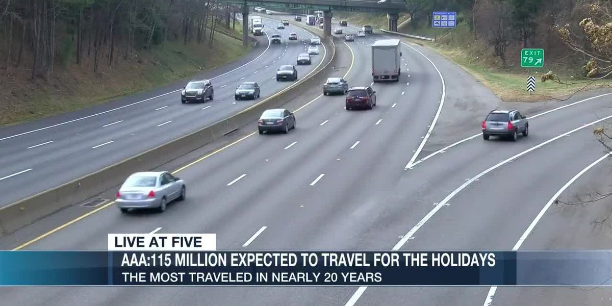 A record breaking 115 million Americans expected to travel this holiday season