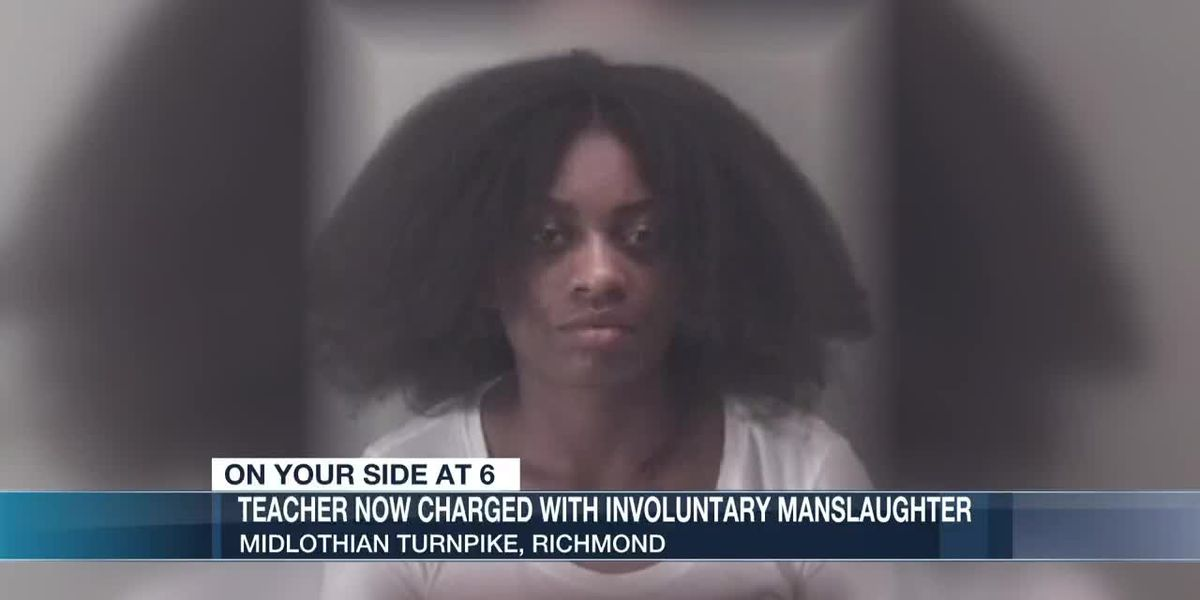 Richmond teacher charged with involuntary manslaughter in DUI crash that killed father of 5