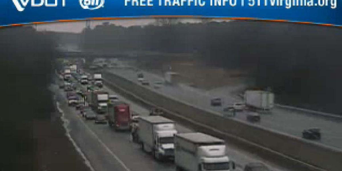 All lanes back open after crash on I-95S in Hanover