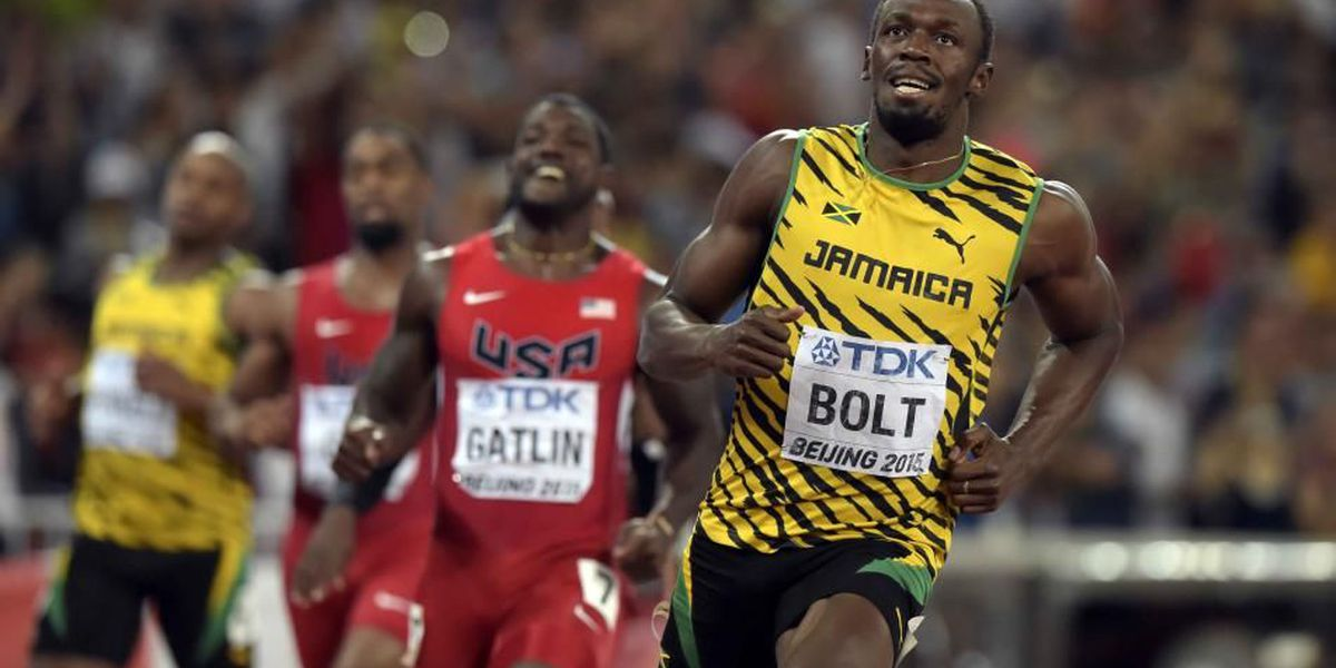 Usain Bolt rockets to third Olympic gold in 100m, US' Gatlin gets silver