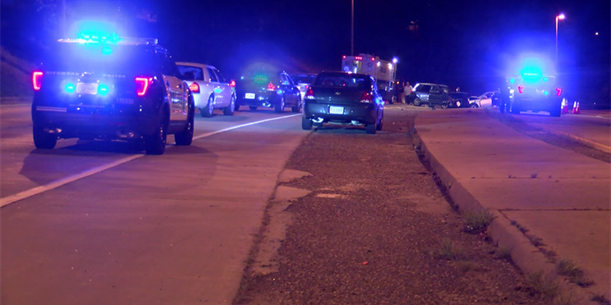 Police: Driver identified in wrong-way crash that killed 1, injured 4 on I-195