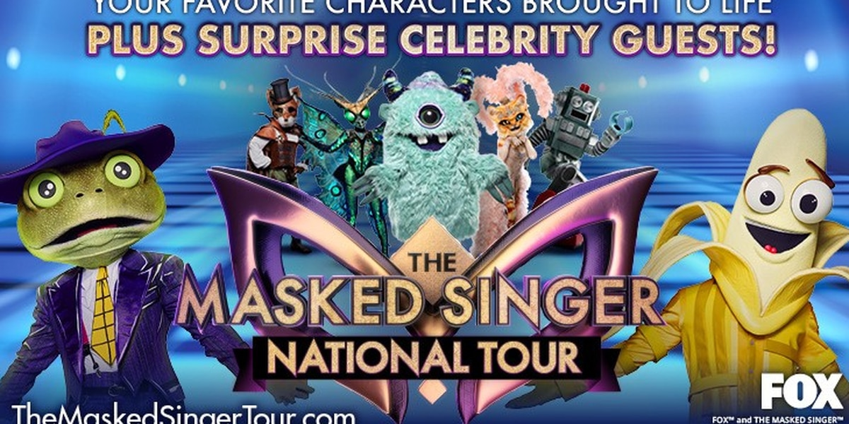 The Masked Singer tour coming to Richmond in June