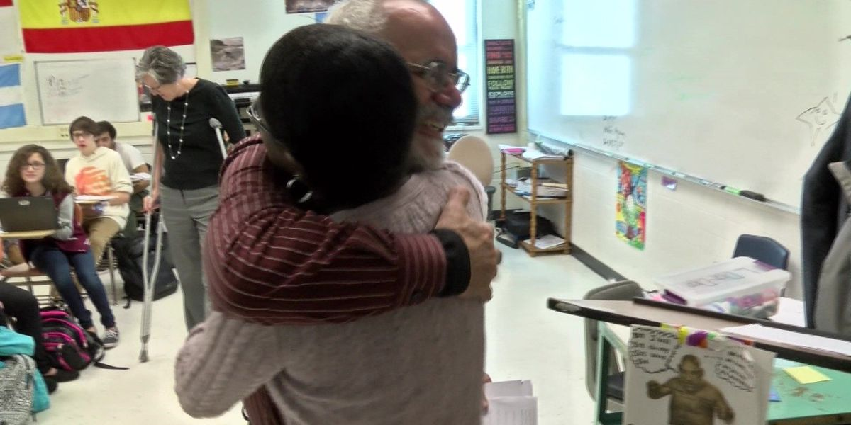 Acts of Kindness: Chesterfield teacher honored by former student