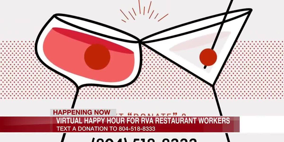 Virtual happy hour fundraiser held to support Richmond's servers