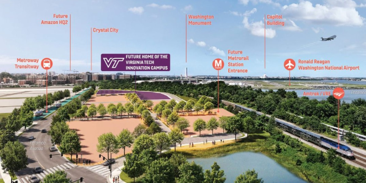 Boeing commits $50M to new Virginia Tech campus in Alexandria