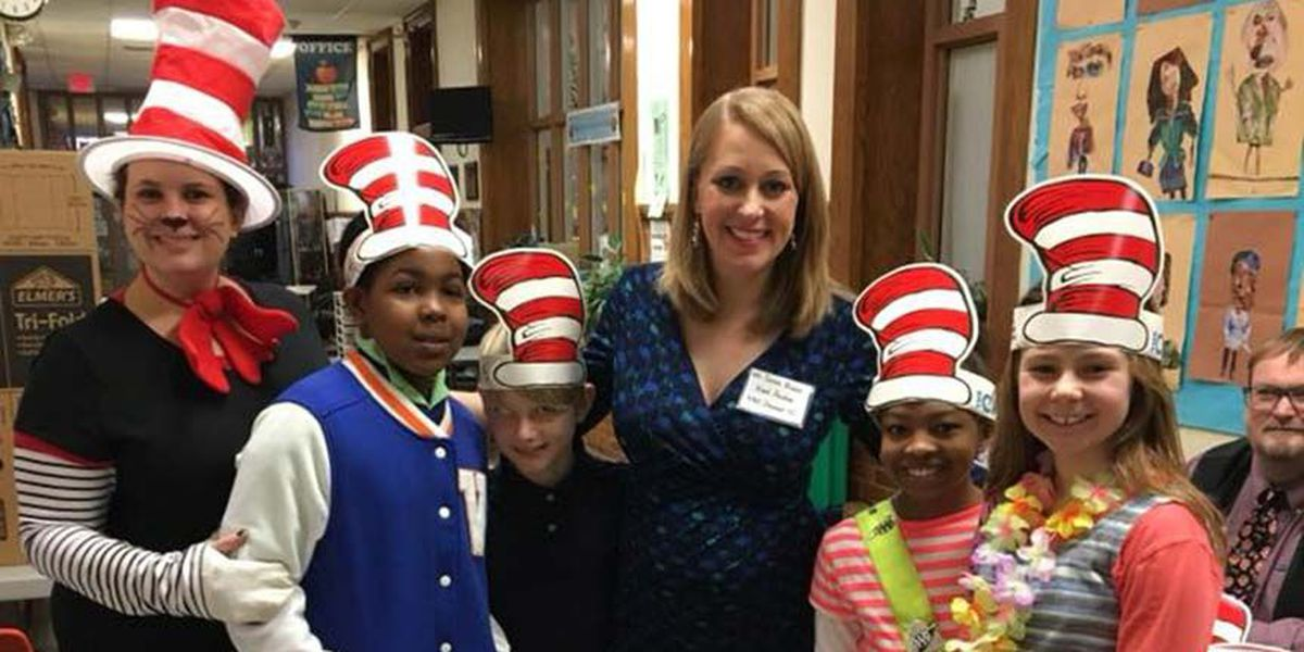 NBC12 reads to students for Read Across America Day