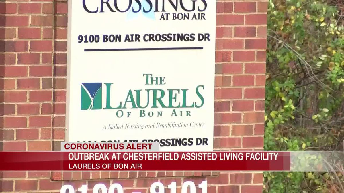 101 COVID-19 cases reported in the past month at Bon Air long-term care facility