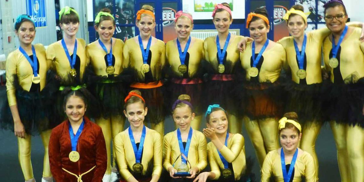 Midlothian Ice Theater team takes second in national competition