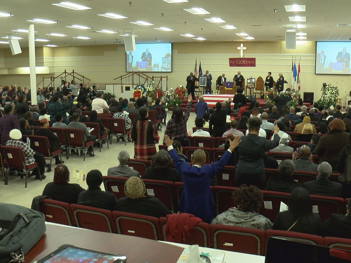 Hundreds attend funeral of slain firefighter Lieutenant Ashley Berry