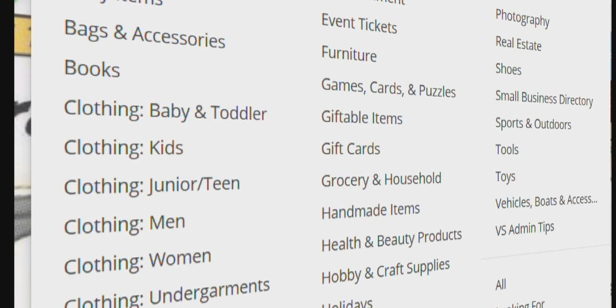 MORE BANG FOR YOUR BUCK: Cash in with virtual garage sales