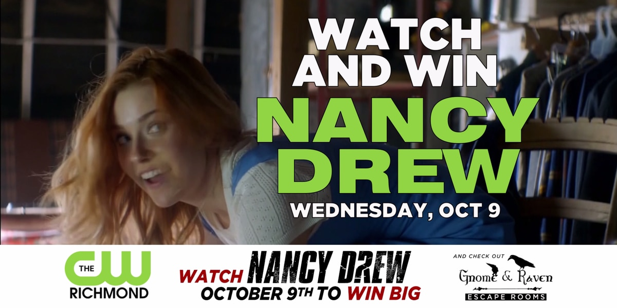 Nancy Drew Code Word Giveaway: This contest has ended