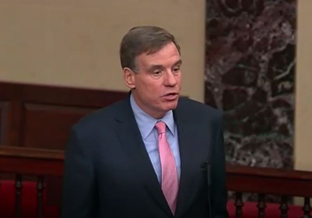 Warner looks for third term in Senate