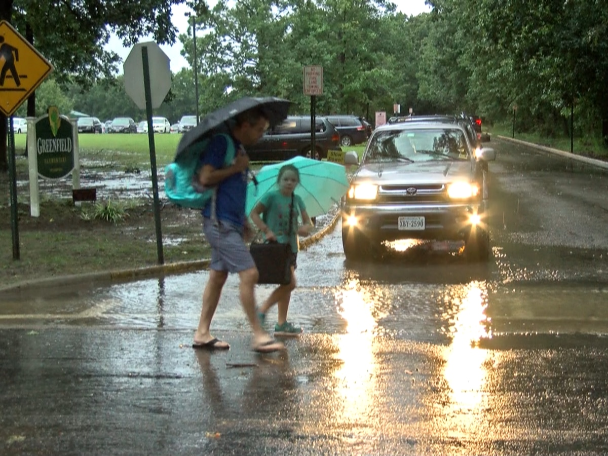 Students shelter in place for hours during tornado warnings