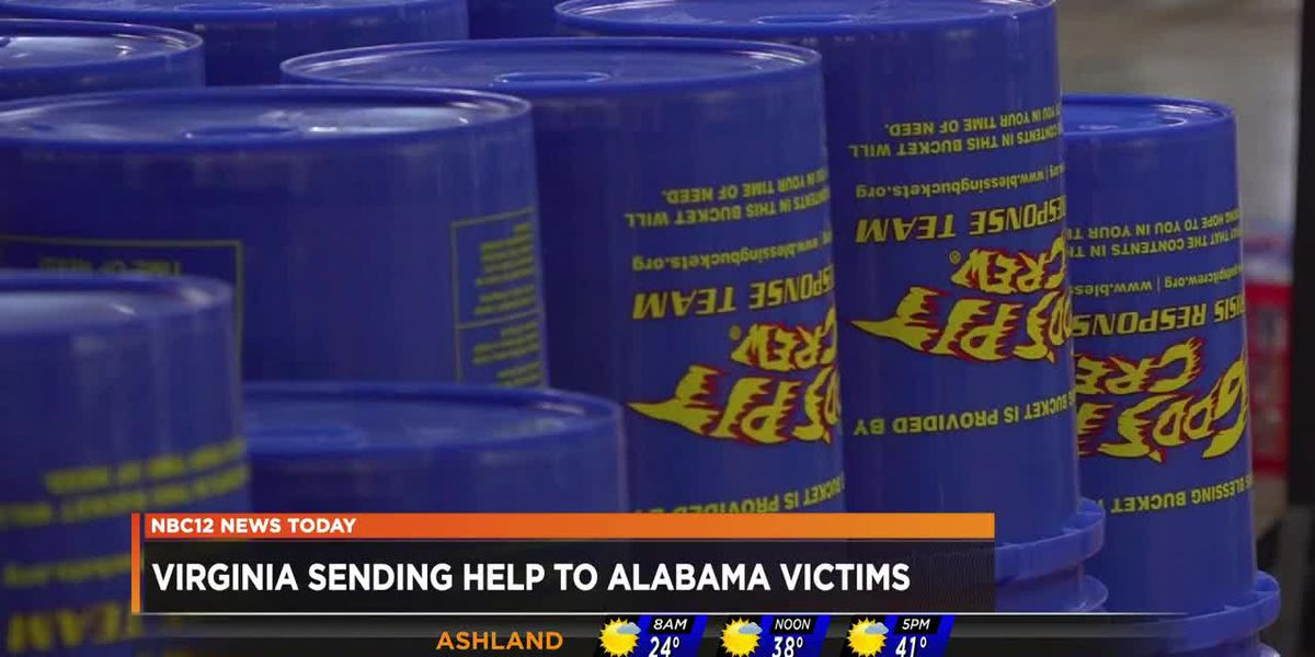 Virginia group helps tornado victims