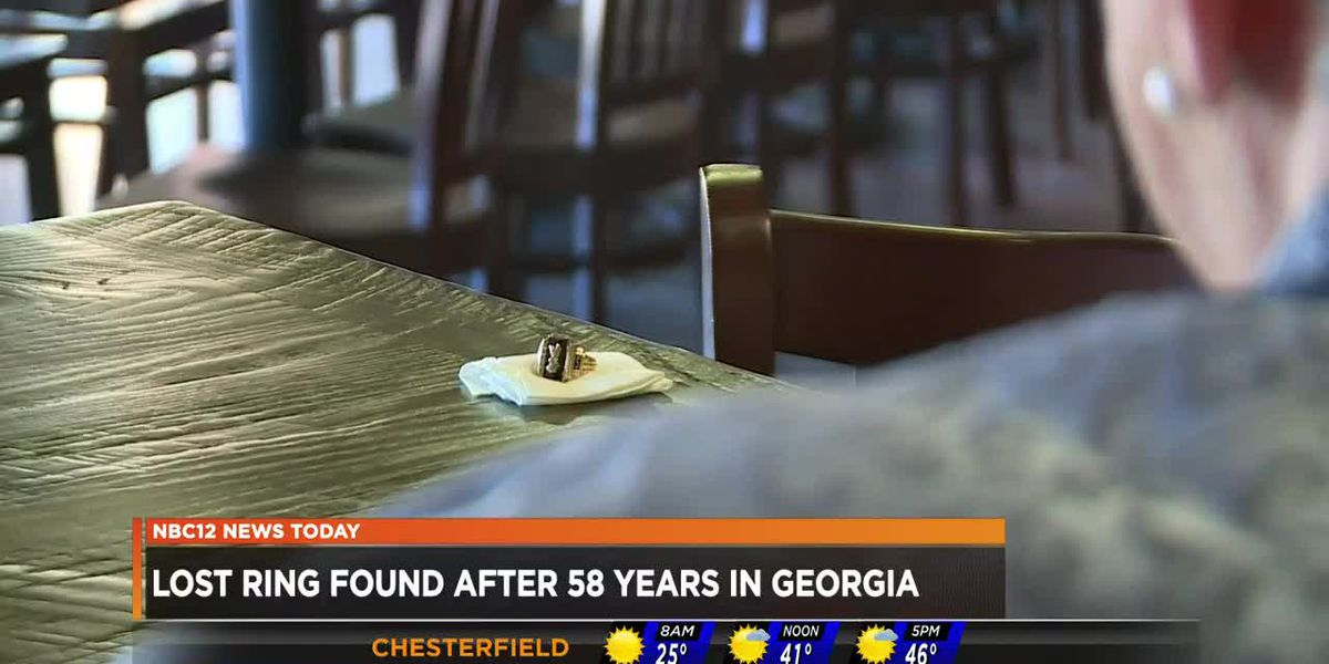 Lost ring found after 58 years in Georgia