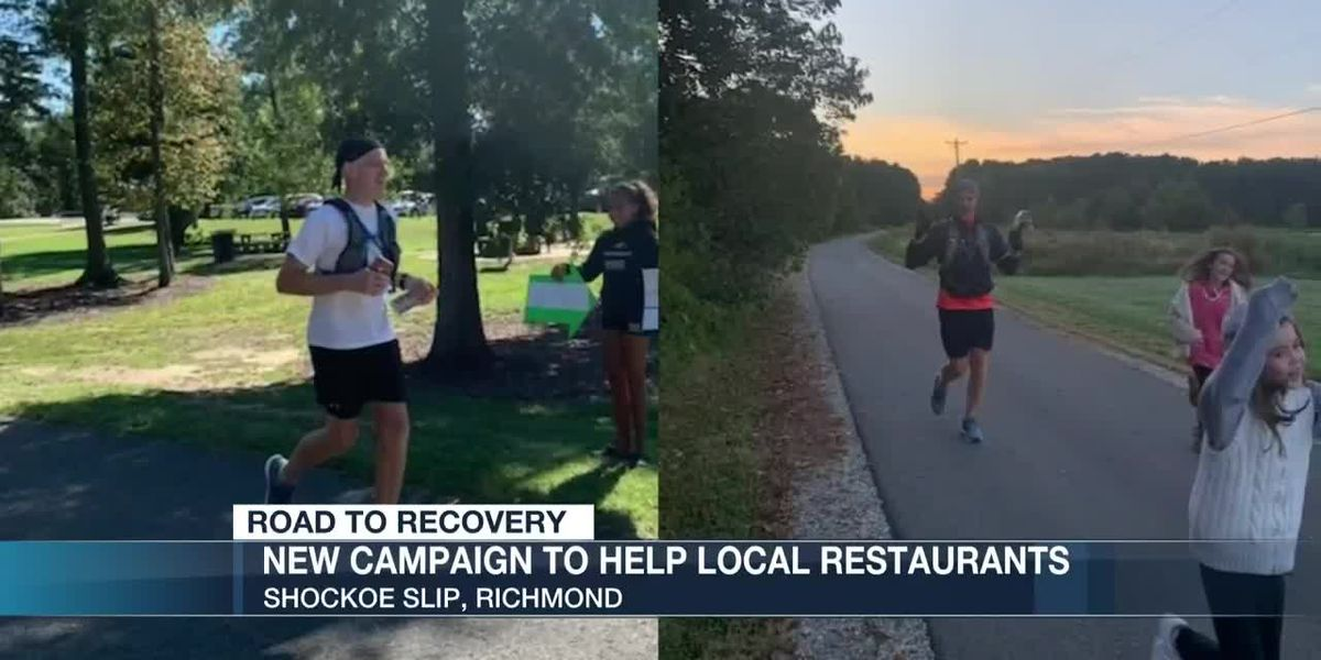Man runs entire Capital Trail to raise money for Richmond restaurants