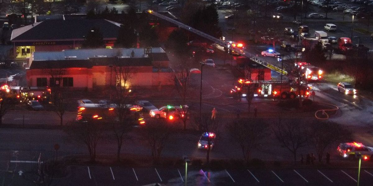 Chesterfield Wendy's kitchen fire evacuates building