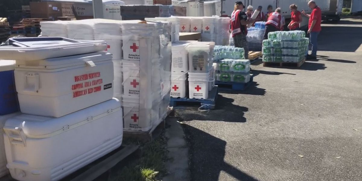 Central Va. Red Cross volunteers in Florida helping those in Dorian's path