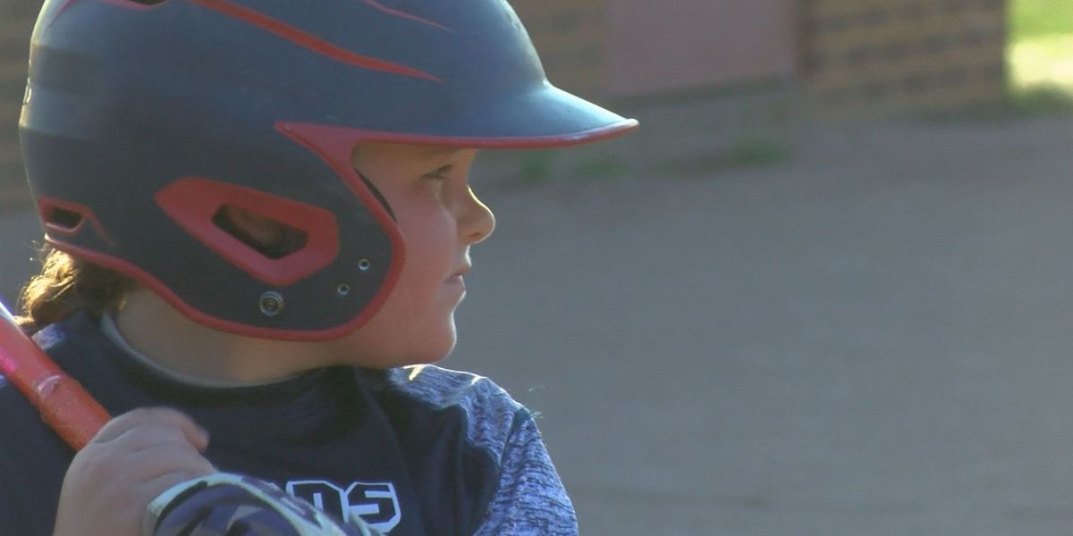 Abrielle Shaw stands out on her baseball team, but not because she's a girl