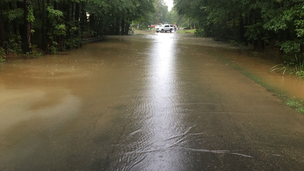 Heavy rainfall causes flooding across Central Virginia
