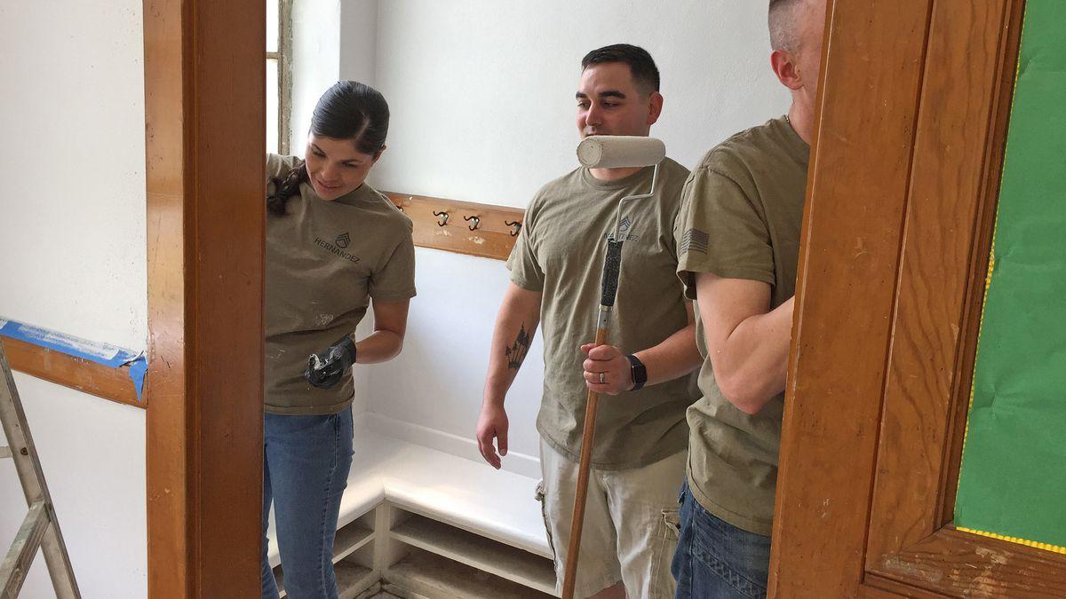 Volunteers needed to help paint elementary school