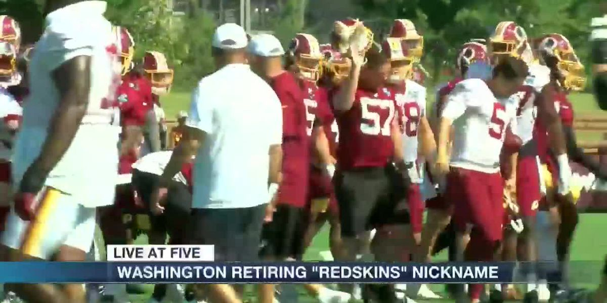 "Washington retiring ""Redskins"" nickname"