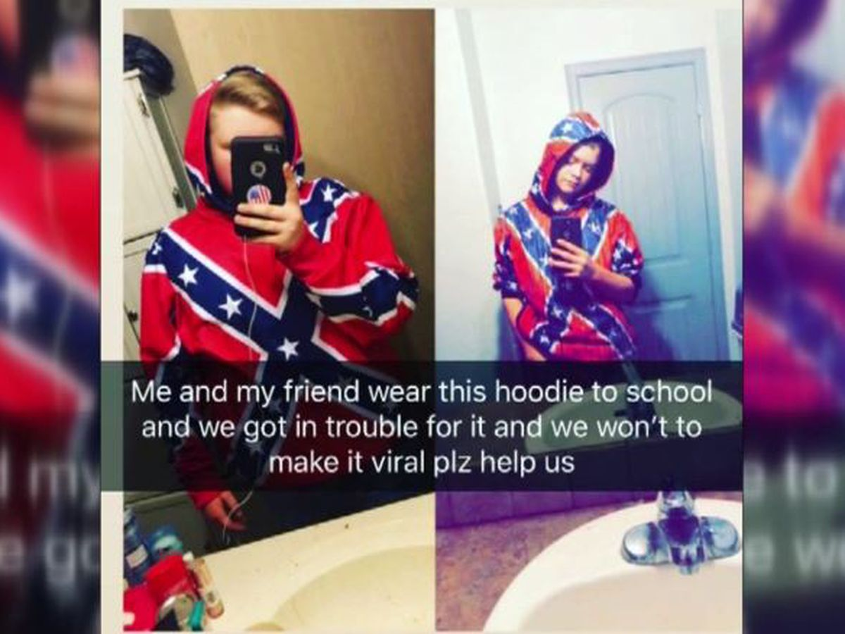 Students reprimanded for Confederate flag attire plan to continue wearing it to AR high school