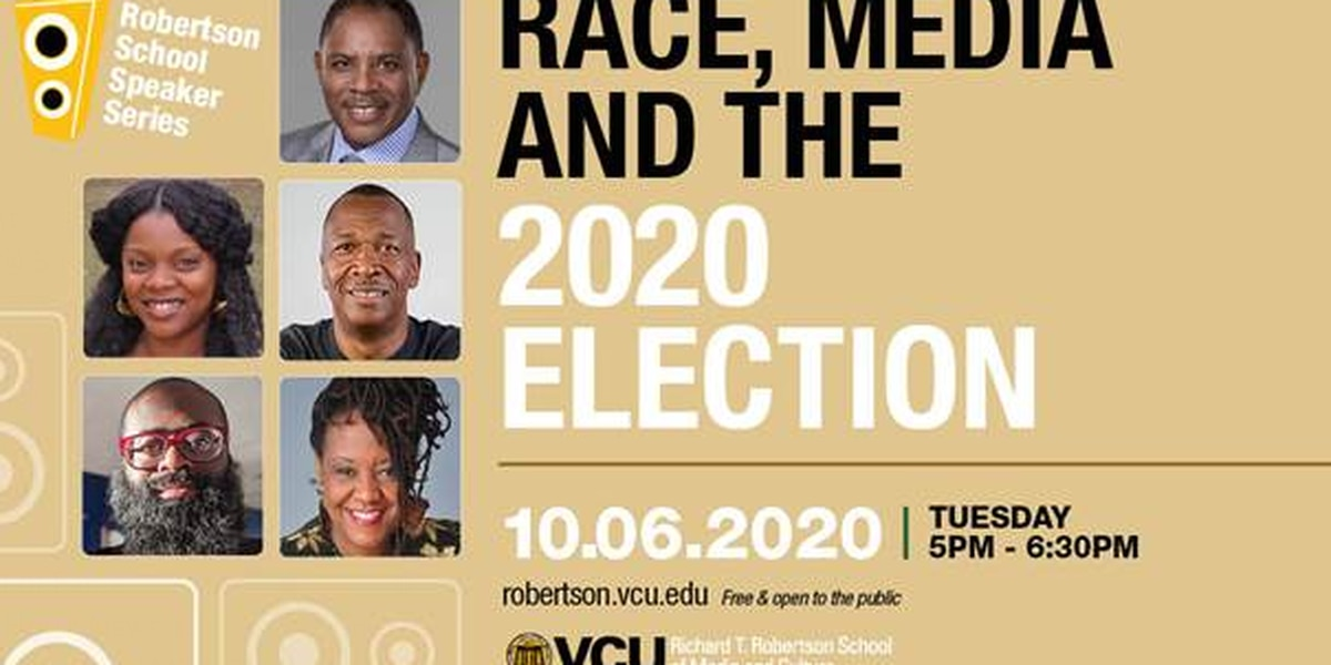 VCU hosting virtual panel discussion called 'Race, Media and the 2020 Election'