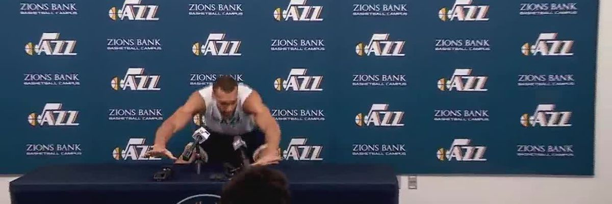 NBA player touches microphones, recording devices as joke, tests positive for virus 2 days later