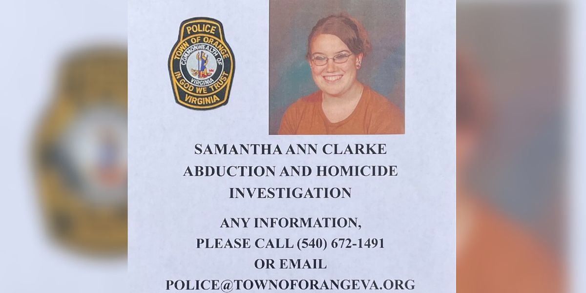 Samantha Clarke disappearance case reclassified as an abduction and homicide investigation
