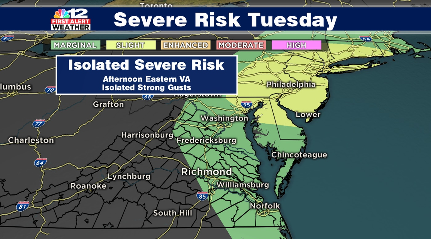 First Alert Weather Day Tuesday Marginal Severe Risk Eastern Virginia The weather vane is published weekly by undergraduate students of eastern mennonite university. marginal severe risk eastern virginia