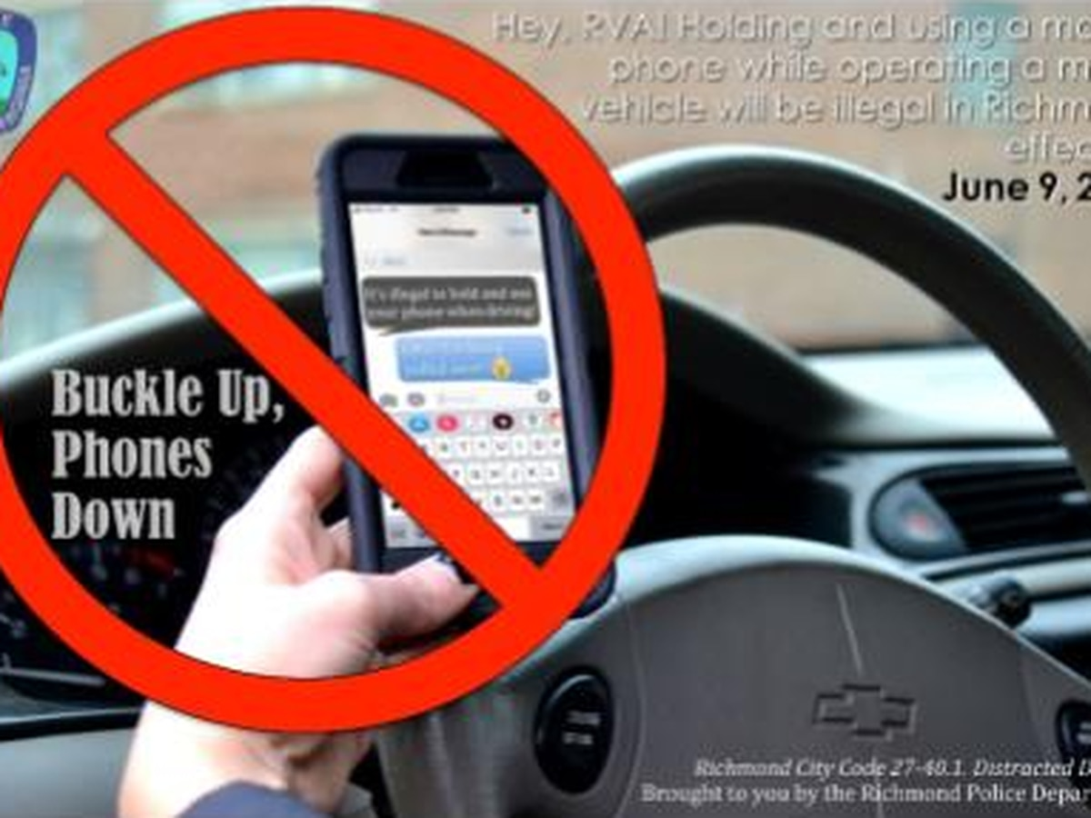 Holding device while driving will become illegal starting in June