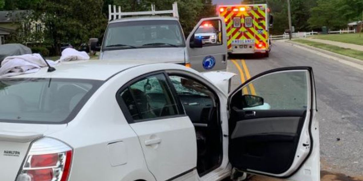 Drivers injured after two-vehicle accident in Chesterfield
