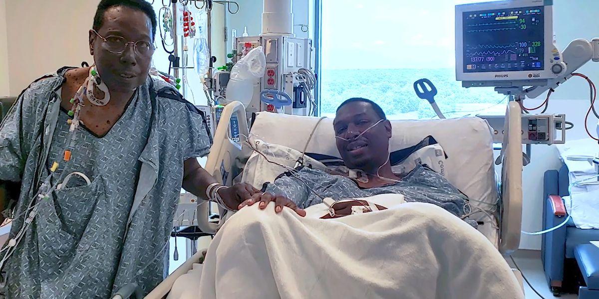 Son donates liver to father in rare live donation