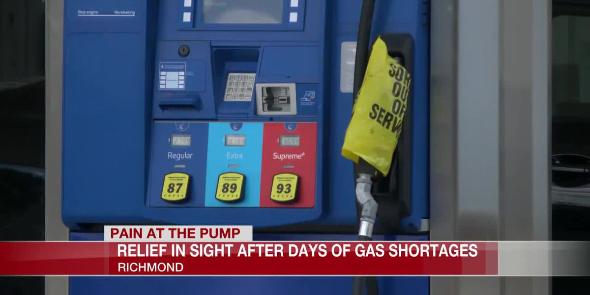 Relief in sight after days of gas shortages