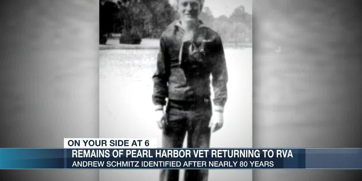Va. native's remains return home nearly 80 years after attack on Pearl Harbor