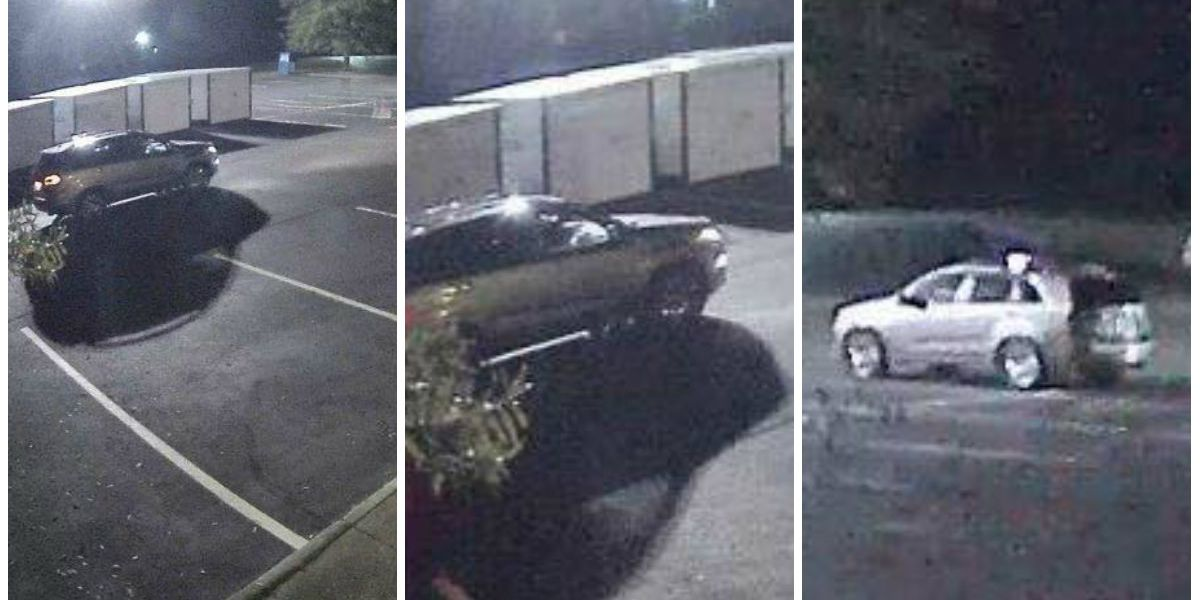 Police release photos of getaway car in double shooting