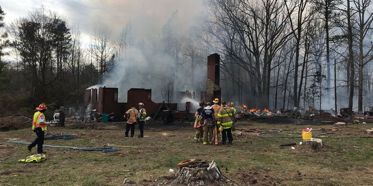 Charles City fire destroys home, expected to burn for days