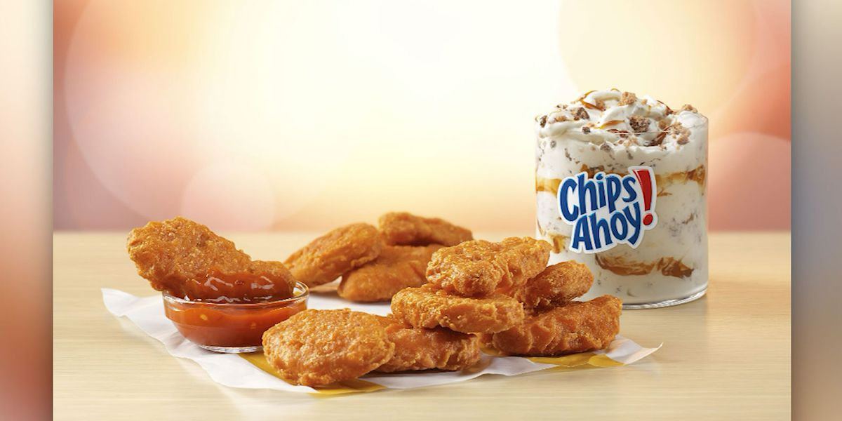 McDonald's launches new McNugget, McFlurry flavors
