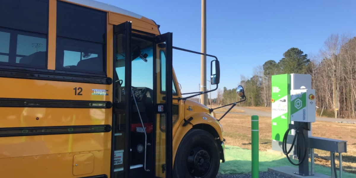 Dominion Energy rolls out more electric school buses