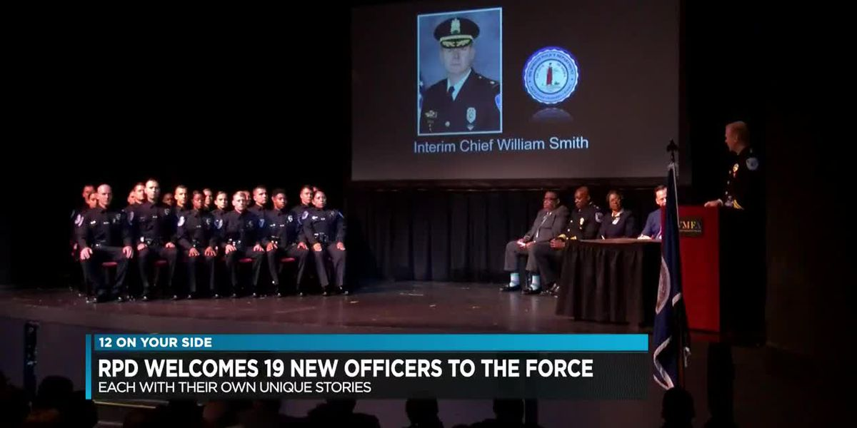 RPD Welcomes 19 new officers to the force
