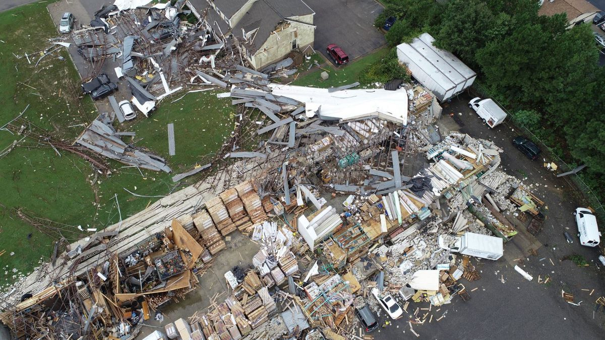 Multiple tornadoes confirmed in Virginia