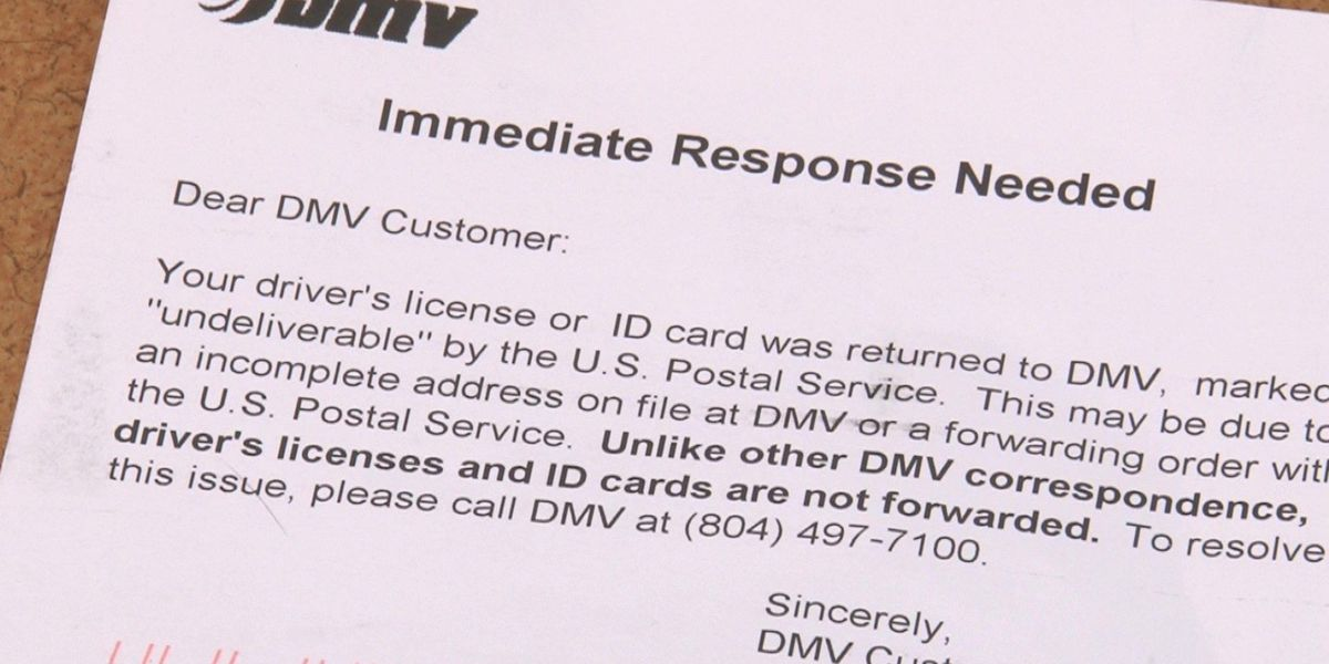 Woman calls 12 after waiting months for renewed ID card from DMV