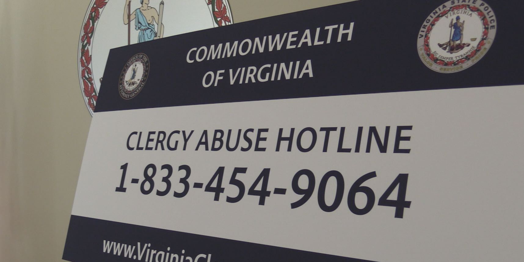 Attorney General creates Virginia Clergy Abuse Hotline