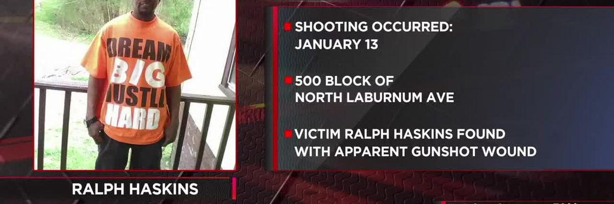 Police searching for suspect in Laburnum homicide
